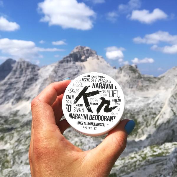 Ana Čufer deodorant v gorah